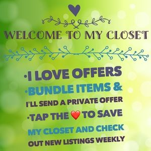 Hit the ❤️ - Keep up with my closet!